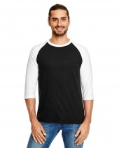 Adult Triblend 3/4-Sleeve Raglan T-Shirt
