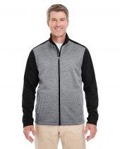 Men's Newbury Colorblock Mélange Fleece Full-Zip