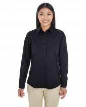 Ladies' Perfect Fit™ Half-placket Tunic Top