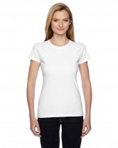 Ladies' 4.7 oz. Sofspun® Jersey Junior Crew T-Shirt