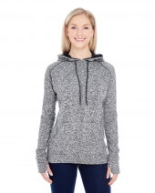 Ladies' Cosmic Contrast Fleece Hood