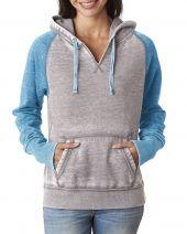 Ladies' Zen Contrast Pullover Hood