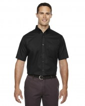 Men's Optimum Short-Sleeve Twill Shirt
