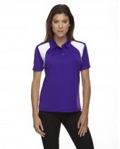 Ladies' Eperformance™ Colorblock Textured Polo