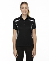 Ladies' Eperformance™ Tempo Recycled Polyester Performance Textured Polo