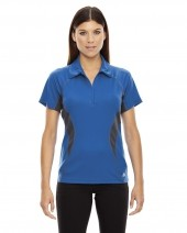 Ladies' Serac UTK coollogik™ Performance Zippered Polo