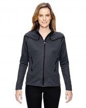 Ladies' Cadence Interactive Two-Tone Brush Back Jacket
