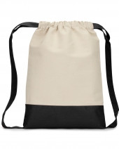Cape Cod Cotton Drawstring Backpack