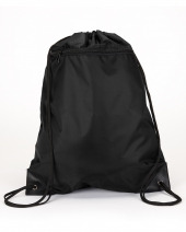 Zipper Drawstring Backpack