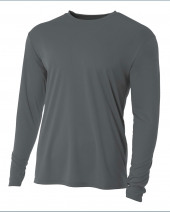 Youth Long Sleeve Cooling Performance Crew Shirt