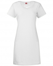 Ladies' V-Neck Fine Jersey Coverup