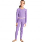 Hanes X-Temp 153 Girls Organic Cotton Thermal Set