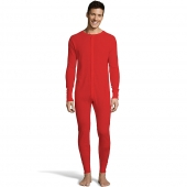 Hanes Mens Solid Waffle Knit Thermal Union Suit