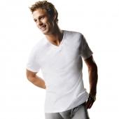 Hanes ComfortSoft TAGLESS Mens Big & Tall V-Neck Undershirt 3-Pack