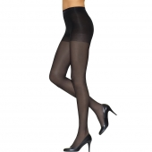 Leggs Silken Mist Control Top Semi-Opaque Leg, Enhanced Toe Pantyhose