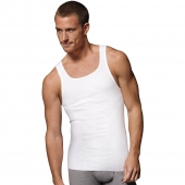 Hanes Ultimate 153 ComfortSoft TAGLESS Mens Ribbed Tank Undershirt 3-Pack