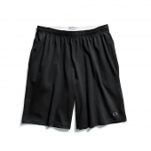 Champion Authentic Cotton 9-Inch Mens Shorts with Pockets