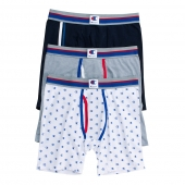 Champion Mens Everyday Comfort Boxer Briefs 3-Pack