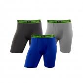 Champion Mens Active Performance Long Leg Boxer Brief 3-Pack