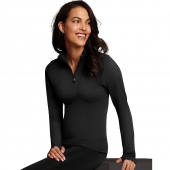 Maidenform Baselayer Thermal Mock Zip