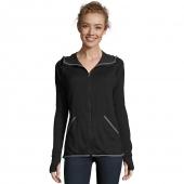Hanes Sport 153 Womens Performance Fleece Zip Up Hoodie