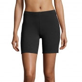 Hanes Womens Stretch Jersey Bike Shorts