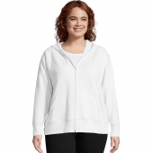 Just My Size ComfortSoft EcoSmart Fleece Full-Zip Womens Hoodie