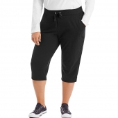 Just My Size French Terry Womens Capris