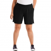 Just My Size Cotton Jersey Pull-On Womens Shorts