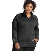 JMS Active Full Zip Mock Neck Jacket