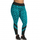 JMS Active Pieced Mesh Run Tight
