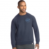 Hanes Mens 1901 Heritage Graphic Fleece V-notch Crewneck Sweatshirt