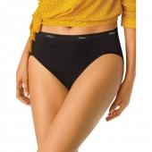 Hanes Cool Comfort 153 Womens Cotton Hi-Cut Panties 6-Pack