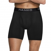 Hanes Ultimate Mens Comfort Flex Fit Ultra Lightweight Breathable Mesh Boxer Briefs Assorted Colors