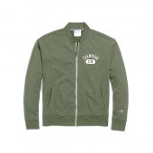 Champion Mens Heritage French Terry Warm-Up Jacket, Arch Logo