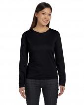 Ladies' Long Sleeve Premium Jersey T-Shirt