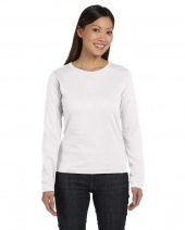 Ladies' Long Sleeve Premium Jersey T-Shirt