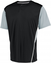 Performance Two-Button Color Block Jersey