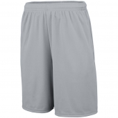 Wicking Knit Youth Training Shorts With Pockets