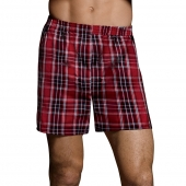 Hanes Ultimate Men's TAGLESS Tartan Boxers with Comfort Flex Waistband 5-Pack