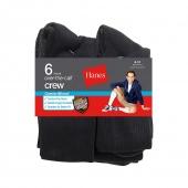Hanes ComfortBlend Over-the-Calf Crew Socks 6-Pack