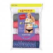 Hanes Women's Bikini 8-Pack