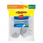Hanes EZ-Sort Boys No-Show Socks 11-Pack