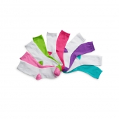 Hanes Girls' Crew EZ Sort Socks Assorted 10-Pack