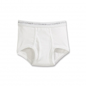 Hanes Boys White Briefs Value 6-Pack