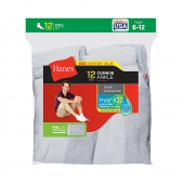 Hanes Men's Ankle Socks 12-Pack