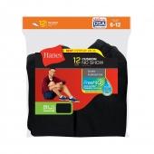 Hanes Men's No-Show Socks 12-Pack