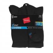 Hanes Men's FreshIQ X-Temp Active Cool Crew Socks 12-Pack