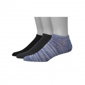 Hanes Men's 1901 Heritage Super Low No Show Socks 3-Pack