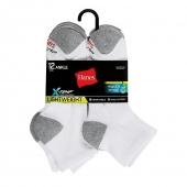 Hanes Men's FreshIQ X-Temp Ankle Socks 12-Pack